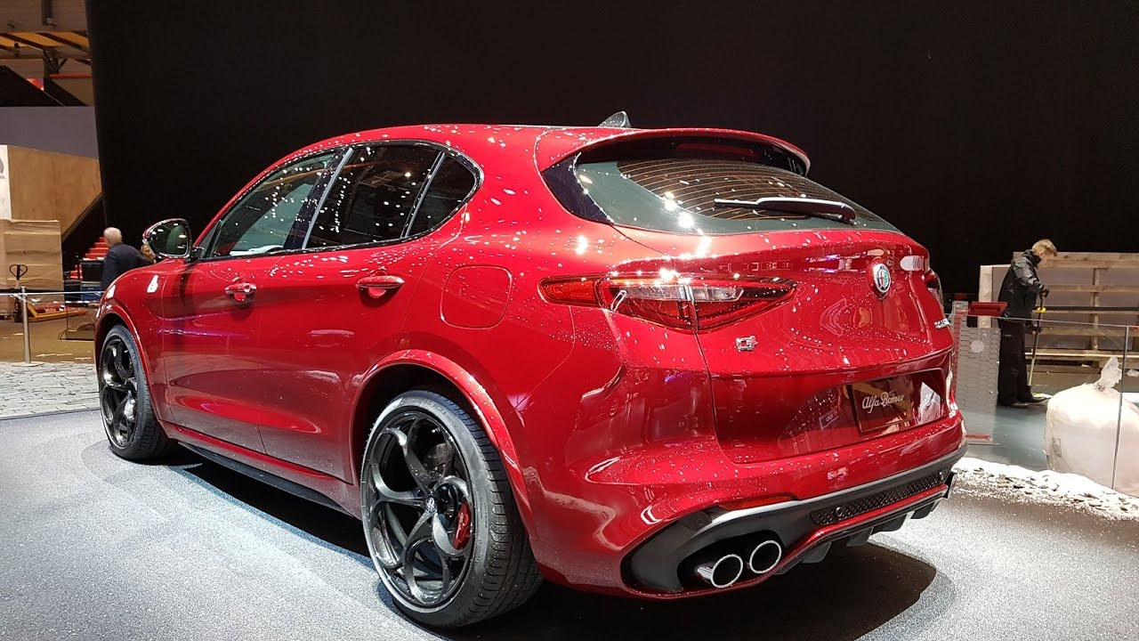 alfa romeo stelvio quadrifoglio rear reviewstories. Black Bedroom Furniture Sets. Home Design Ideas
