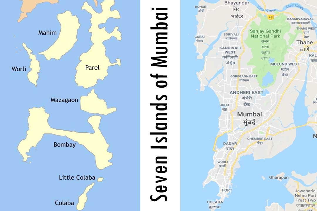 Seven Islands of Mumbai