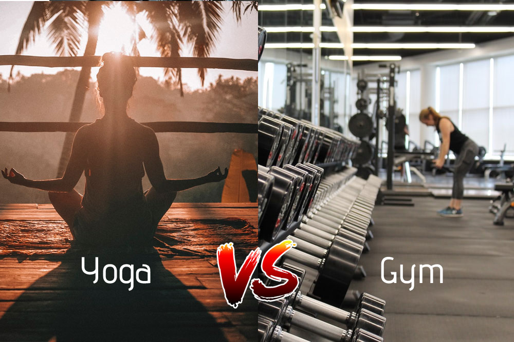 yoga and gym