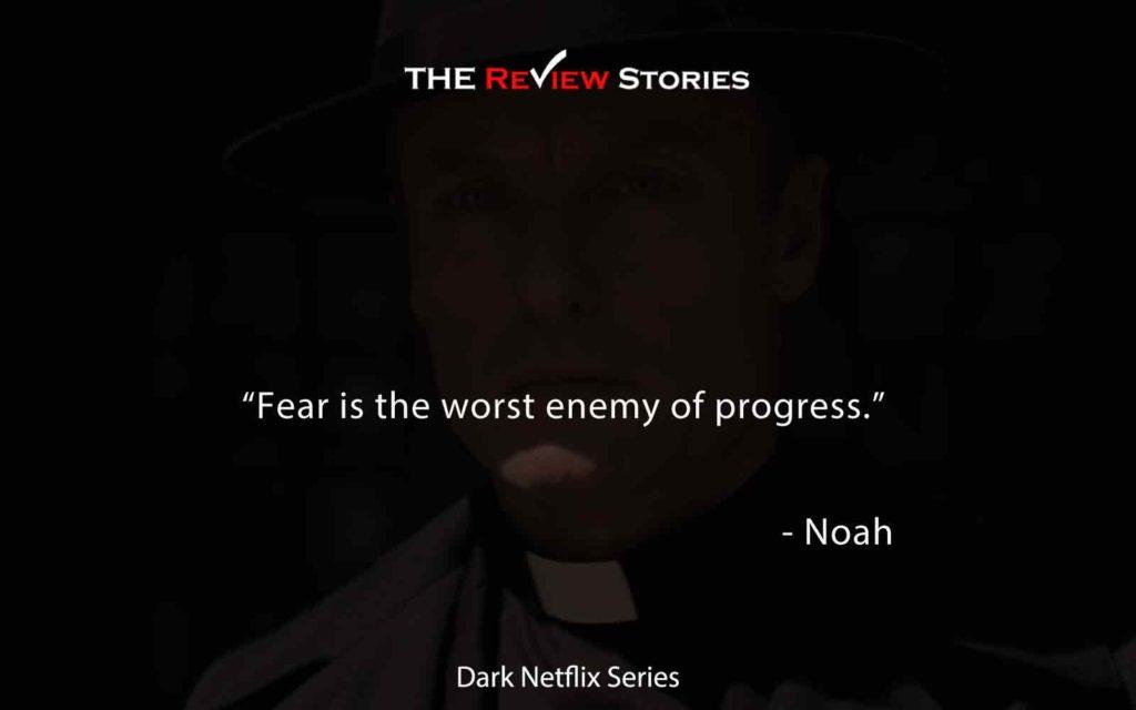 Fear is the worst enemy of progress