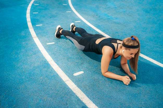 regular training workouts
