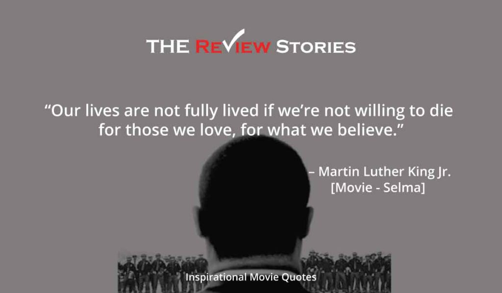 Inspirational Hollywood Movie Quotes - martin luther king jr