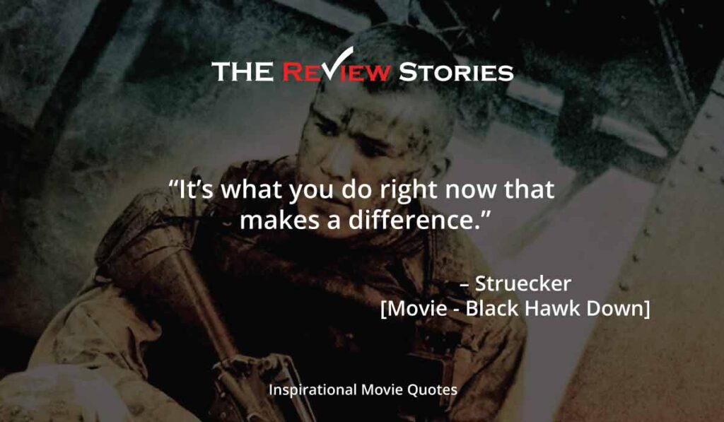 Black hawk down movie quotes