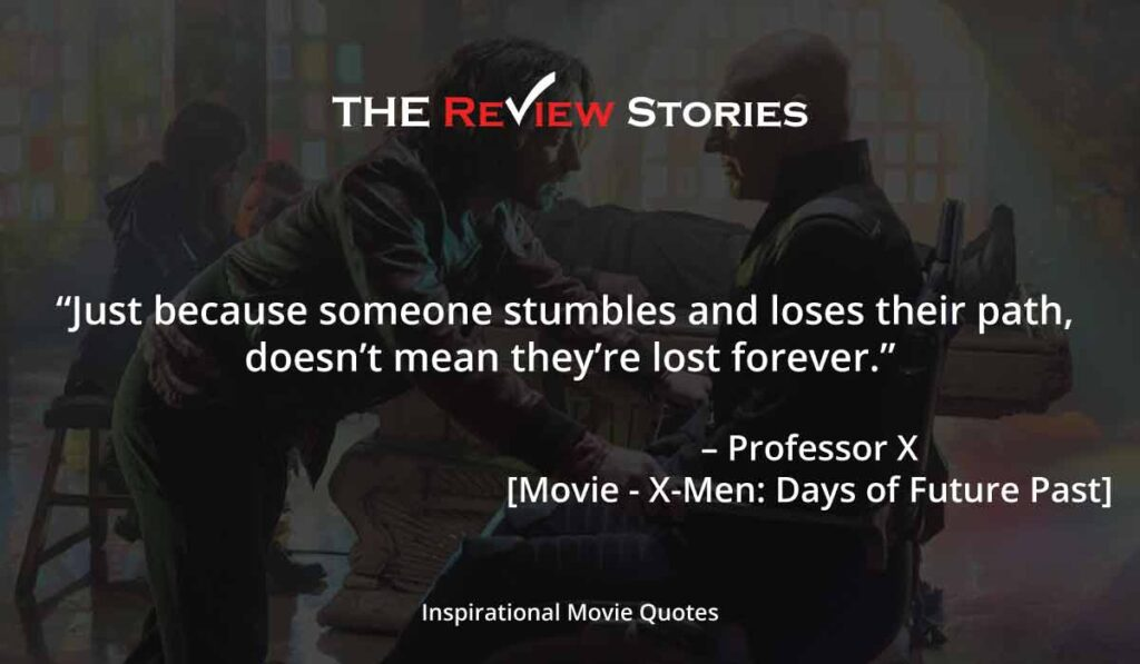 Xmen days of the future past quotes
