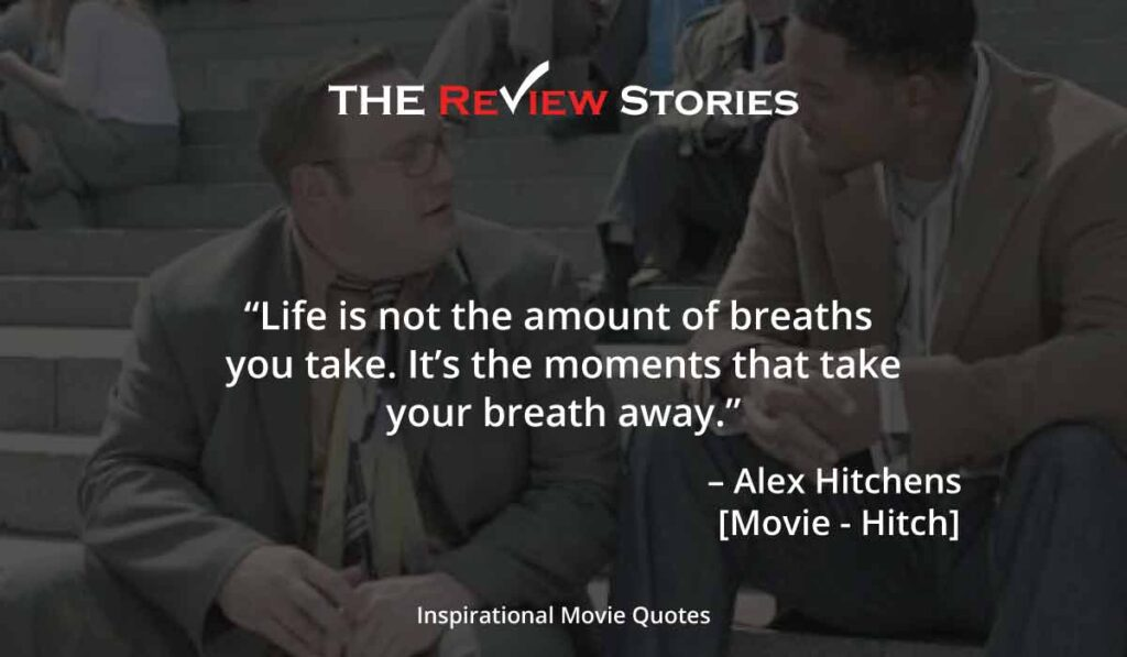 Hitch movie quotes