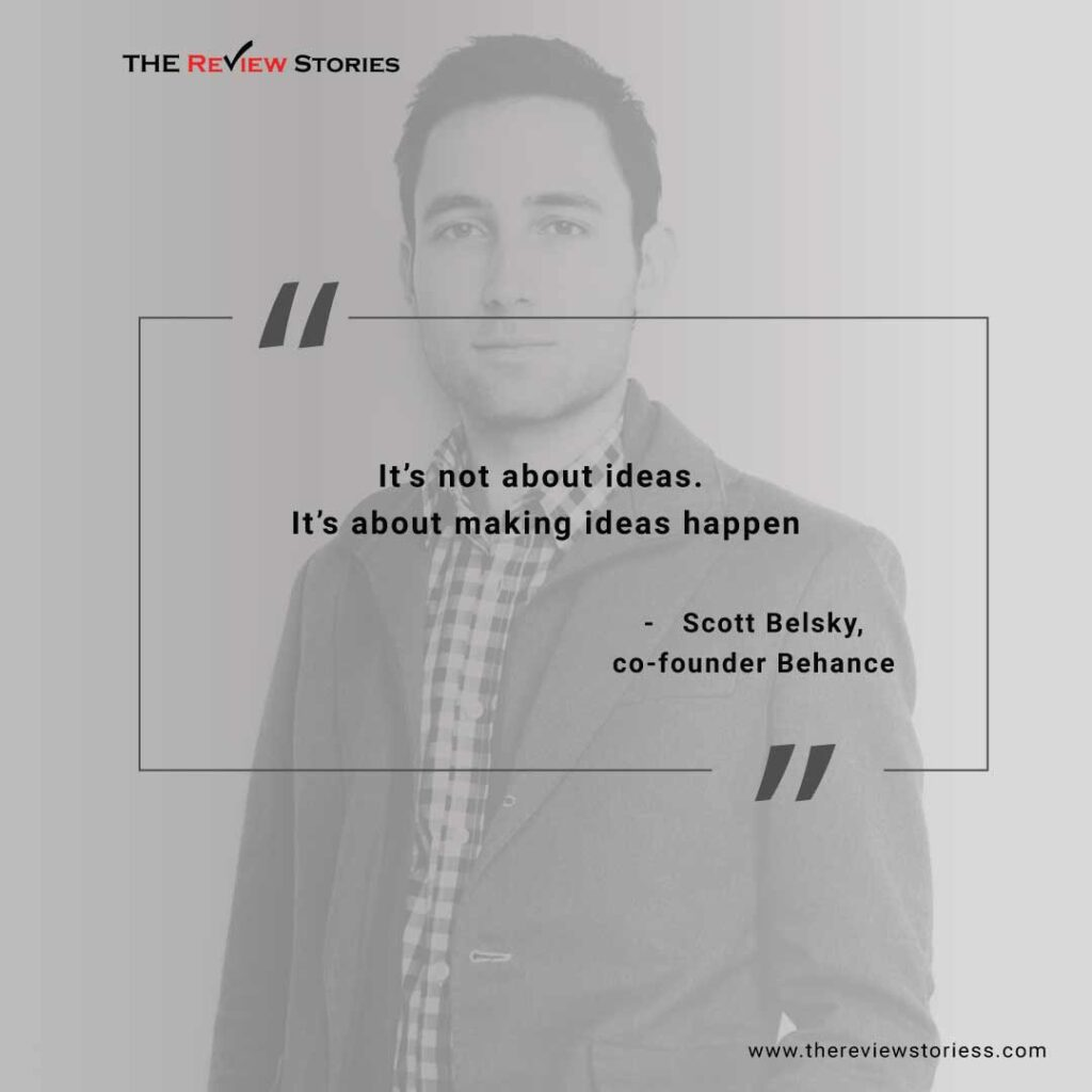 27 entrepreneur quotes which will inspire you to become an entrepreneur - Scott belsky