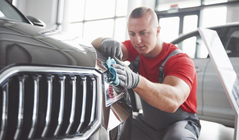 how to detail your car exterior