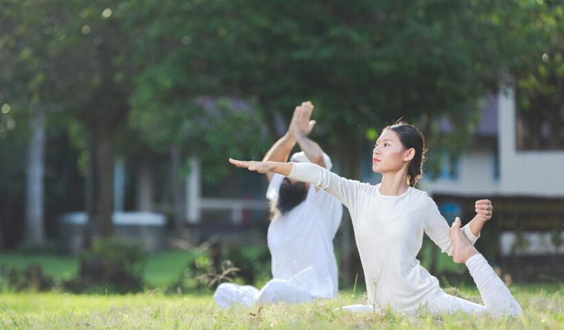 zen space for yoga and meditation