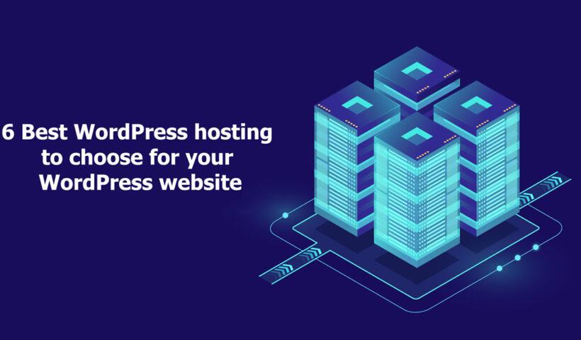 best hosting provider for wordpress