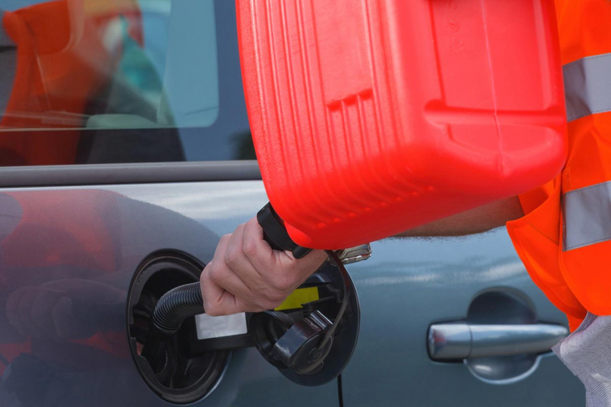Manage your emergency fuel supply