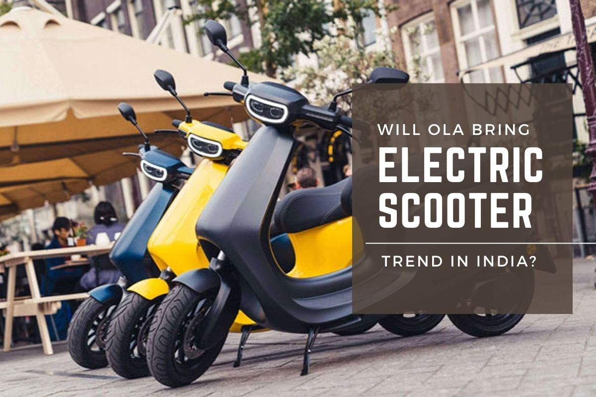 electric scooter in India